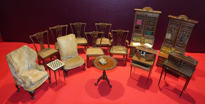Furniture made by Harold Jeffery